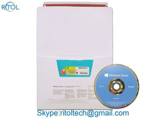 5 CALS Microsoft Windows Server 2012 OEM Std / Datacenter R2 Retail Box Activation Sever License 32 bit / 64 bit